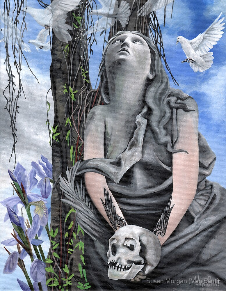 """Evolution Number Four: """"Flesh and Stone"""" by Susan Van Sant"""