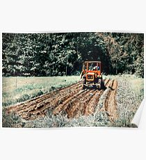 Field. Tractor. Let There Be Potatoes!! Poster
