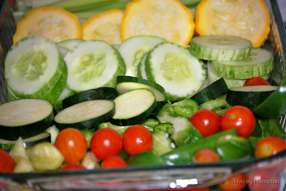 Todays harvests tonites dinner  by Tracey Hampton