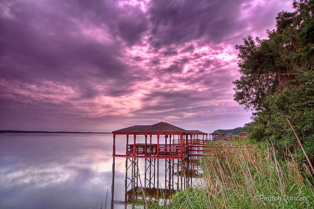 Lake Jessup HDR by Peyton Duncan