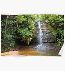 Leura waterfall - Leura Poster