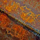 Diagnal Rust reflect by Robert Goulet