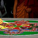 sand mandala. melbourne, australia by tim buckley | bodhiimages