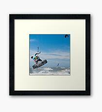 Kiteboarder Framed Print