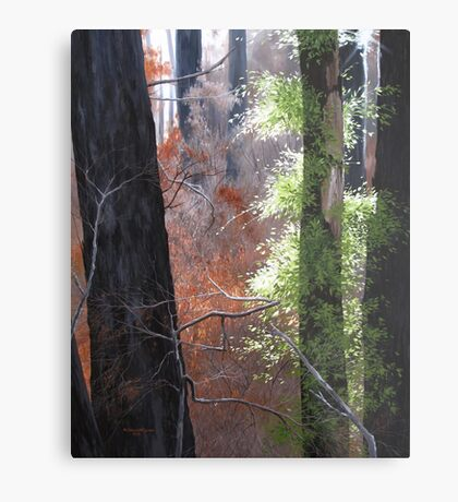 The Life Within Metal Print