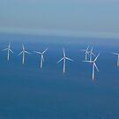 Off Shore Wind Farm by Richard Fox