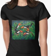 """Toucan Tea"" Womens Fitted T-Shirt"