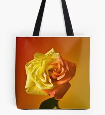 Two Tone Rose Tote Bag