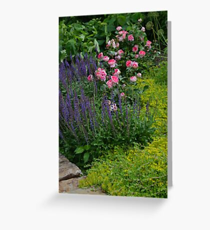 Roses and other flowers Greeting Card