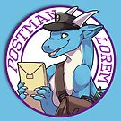 Postman Lorem from Angels with Scaly Wings by mbsaunders