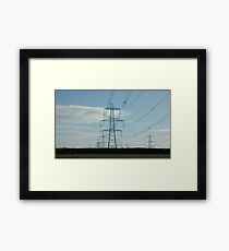 """Marching Towers"" Framed Print"