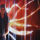 I saw sparks by SFlora