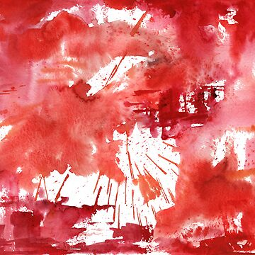 Red 710 Abstract by Sseal