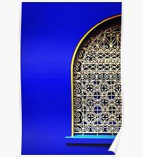 Blue Majorelle Poster