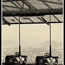 dodgem cars by Kristina Perenyiova