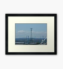 """Severn River Crossing Tower, South Wales"" Framed Print"