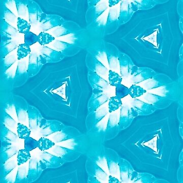 Pila Fashion Design - Blue Geometric by HawaiiArthst