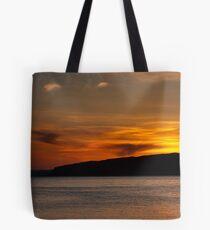 Portencross  Sunset Tote Bag