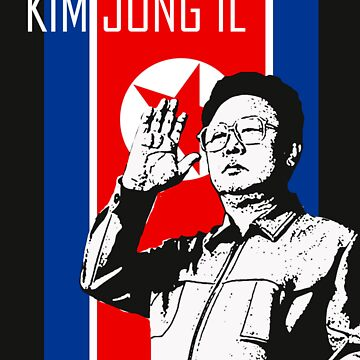 KIM JONG IL by Tee-King
