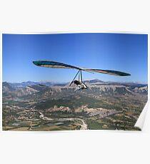 Hang Glider, British National Championships Poster