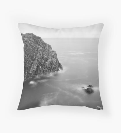 The Cape Crusader Throw Pillow