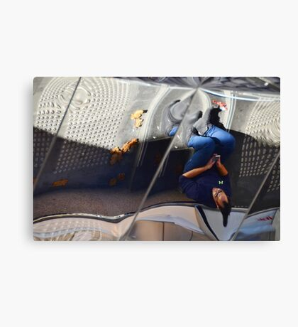 Reflected World: Defying Gravity Canvas Print