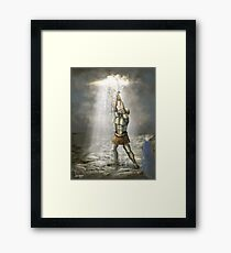 Prophetic Painting for Egypt for 2011 Framed Print