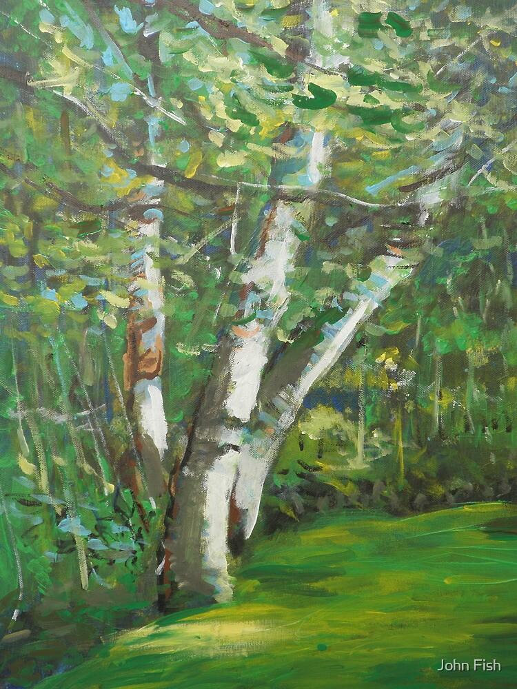 Seattle Trees by John Fish