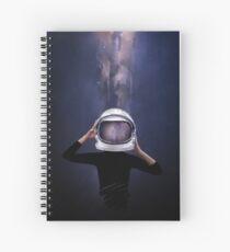 the astronaut Spiral Notebook