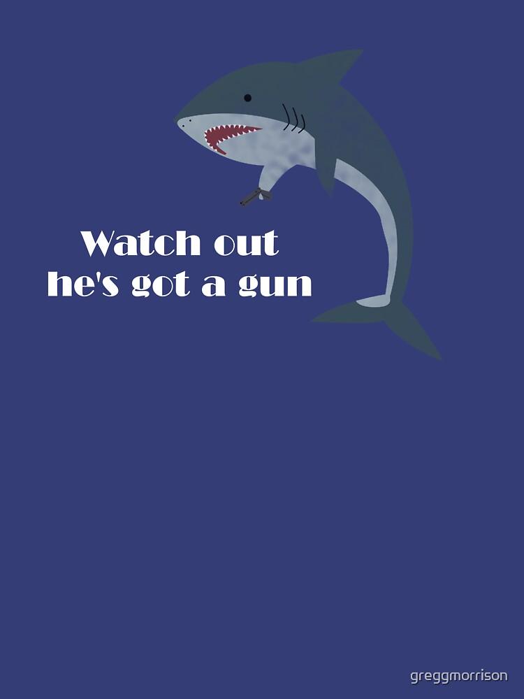 shark gun by greggmorrison