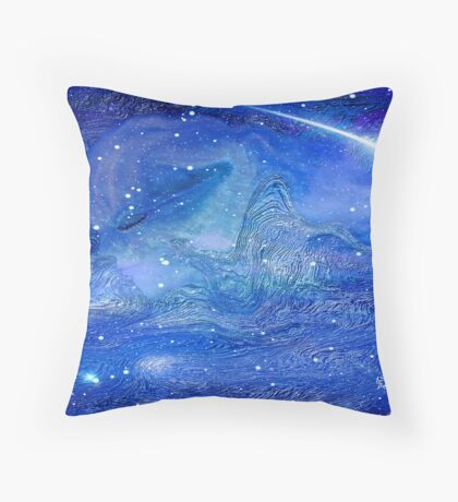 ANGEL OF THE UNIVERSE Throw Pillow