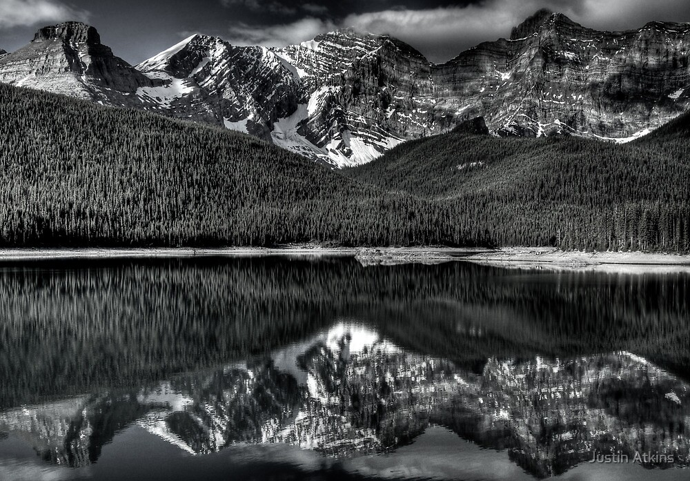 B&W Reflections by Justin Atkins