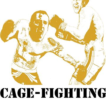 Nicolas CageFighting by adamgoodison1