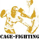 Nicolas CageFighting by adamgoodison1