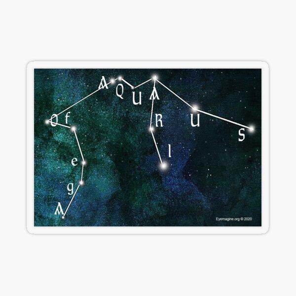 Age of Aquarius Transparent Sticker
