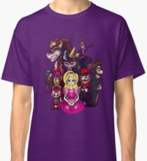 Peach in Mushroomland Classic T-Shirt