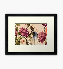 Tattooed Lady II by Jessica Harrison at Banksy's Dismaland Framed Print