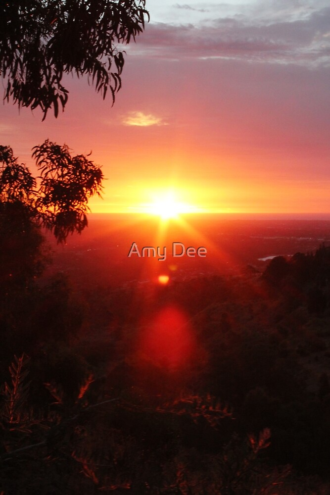 Comforting Sky by Amy Dee