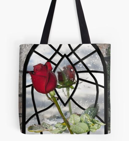 The Timeless Beauty of a Red Rose Tote Bag