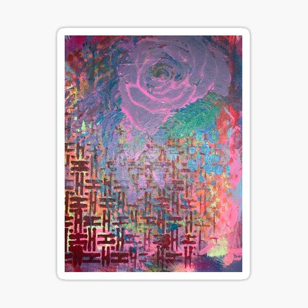I Bloom in Stormy Weather  Sticker