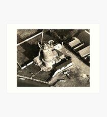 Cley Windmill 1880 Art Print