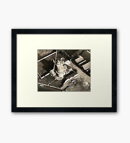 Cley Windmill 1880 Framed Print