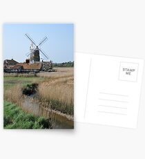 Cley Windmill and the River Glaven Postcards