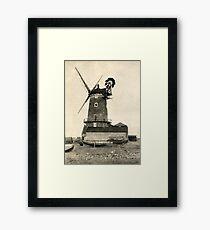 Cley Windmill 1880s Framed Print