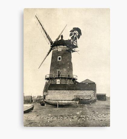Cley Windmill 1880s Metal Print