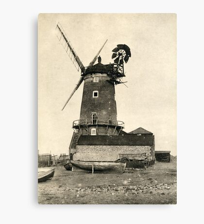 Cley Windmill 1880s Canvas Print