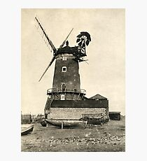 Cley Windmill 1880s Photographic Print