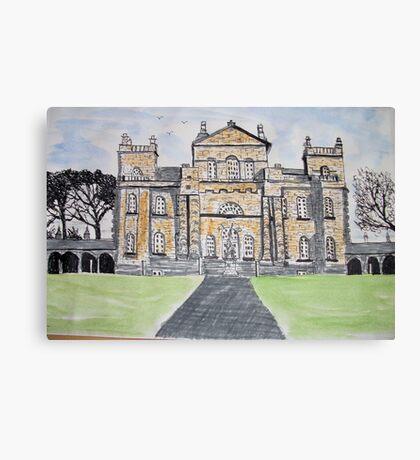 Seaton Deleval Hall Canvas Print