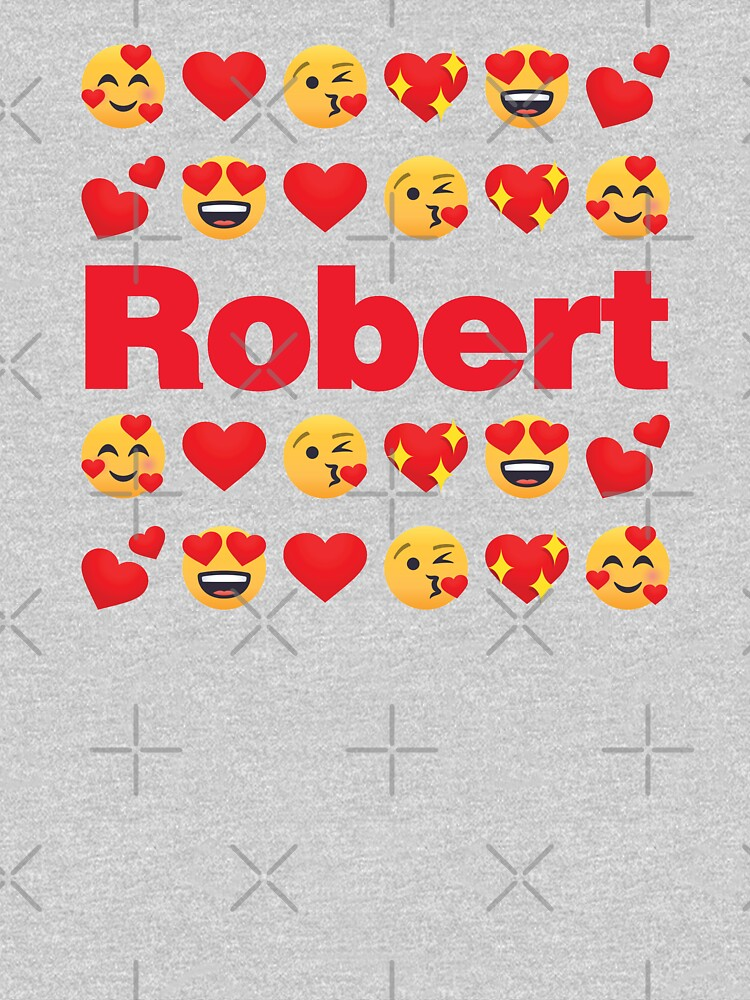 Robert Emoji My Love for Valentines day by el-patron
