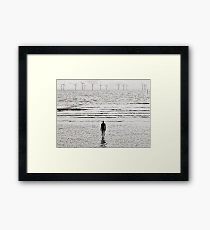 Lonely Man, Crosby Framed Print